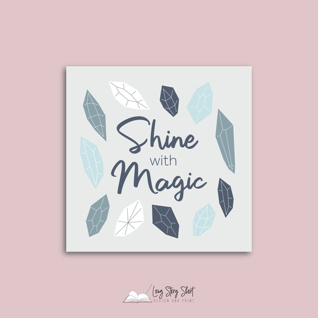 LSS327 Shine with Magic Vinyl Label Pack
