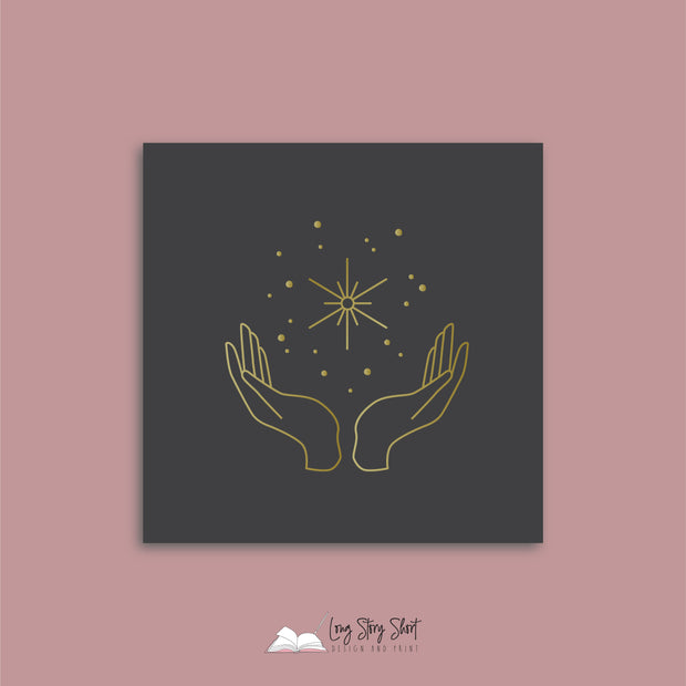 Celestial Hands Vinyl Label Pack