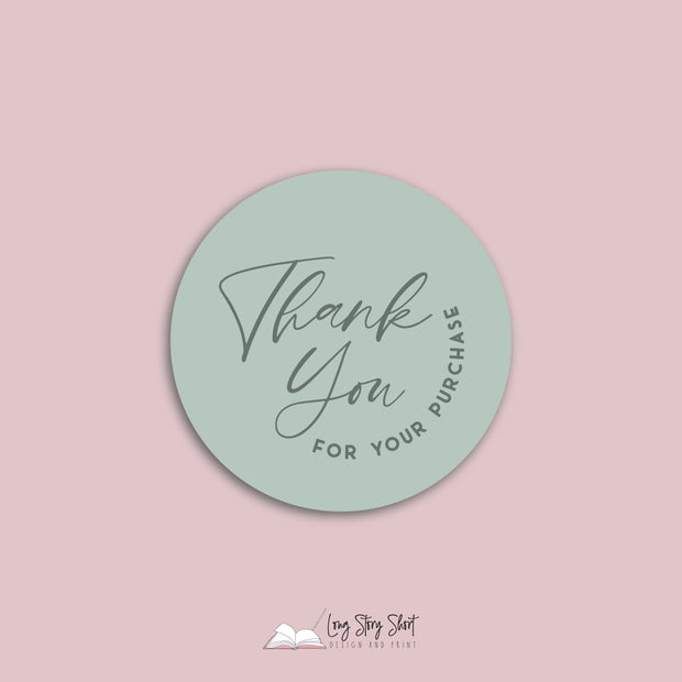 Thank you for your purchase Vinyl Label Pack