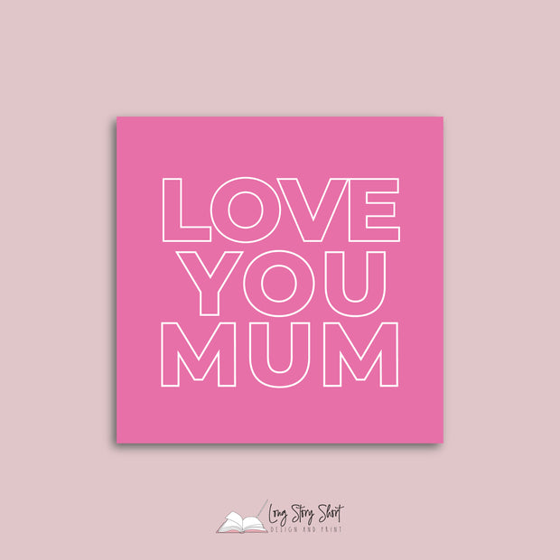 Best Mum Ever Vinyl Label Pack