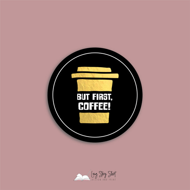 The Black Coffee Edition Round Vinyl Label Pack