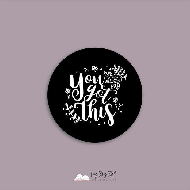 You got this Black Vinyl Label Pack
