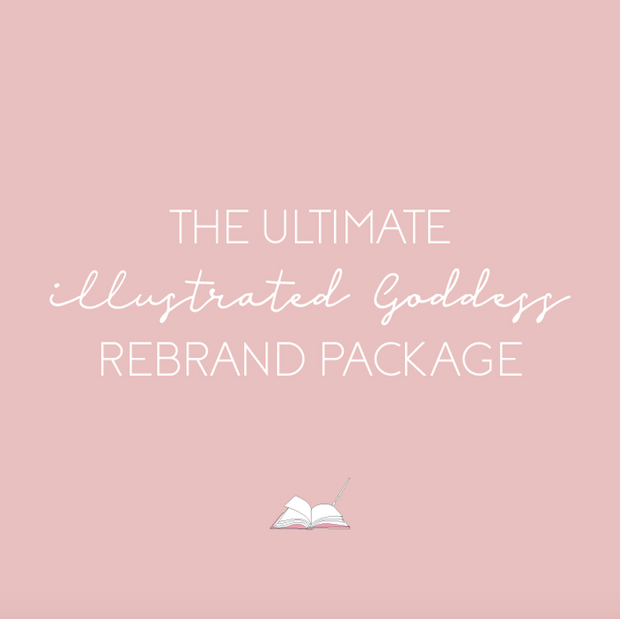 The Ultimate Illustrated Goddess Rebrand Package