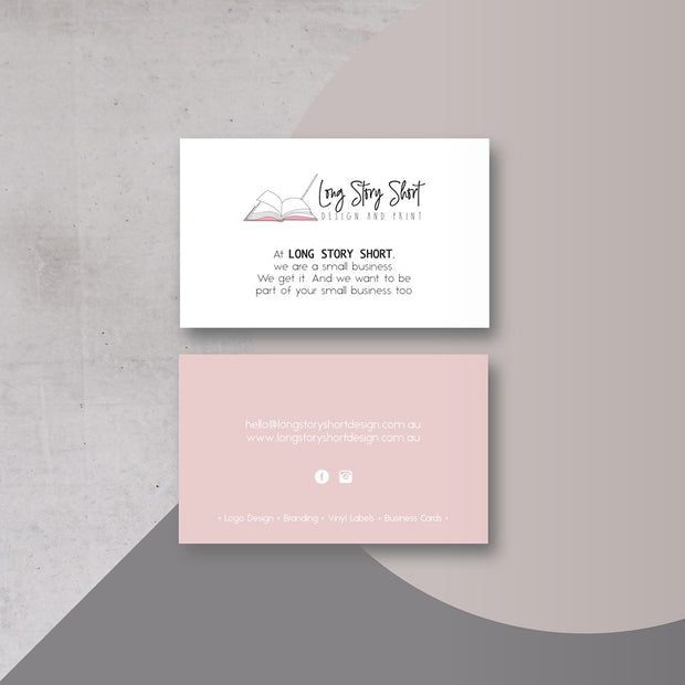 The Best Seller Business Cards (350gsm Coated Artboard)