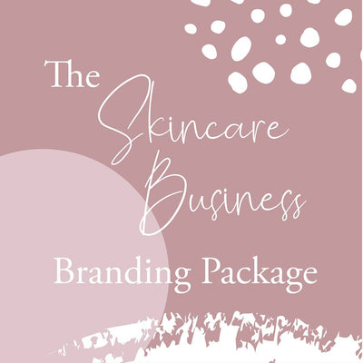 The Skincare Business Branding Package