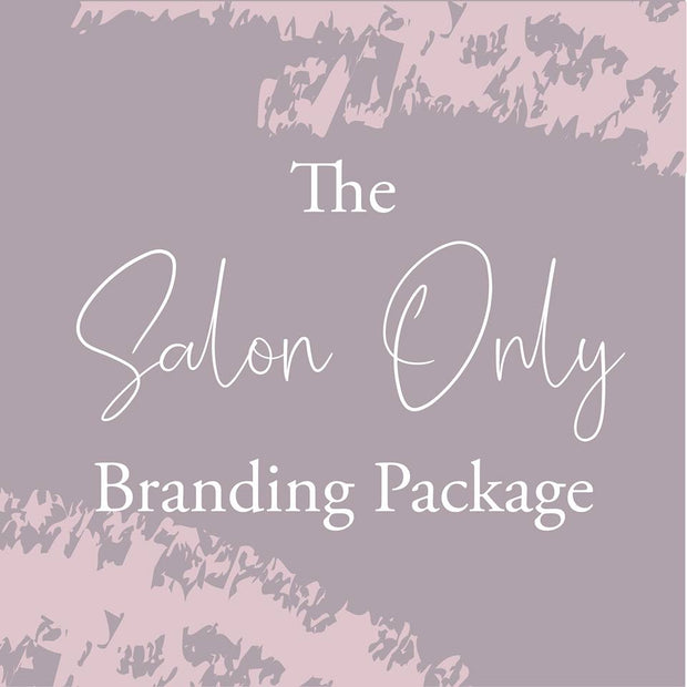 The Salon Only Branding Package
