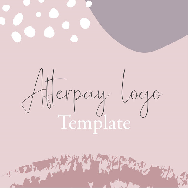 Afterpay Logo Decal