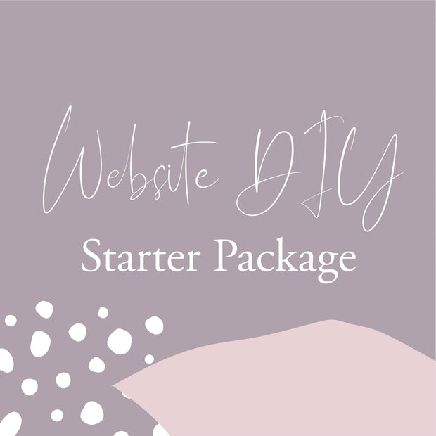 Website DIY Starter Package