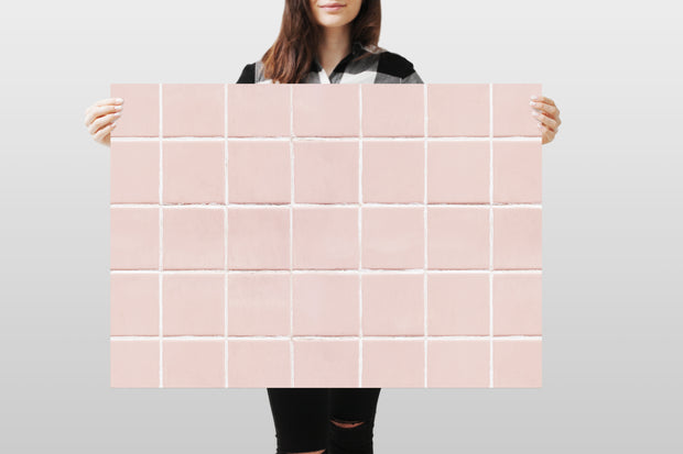 Photography Backdrop - Pink Tiles