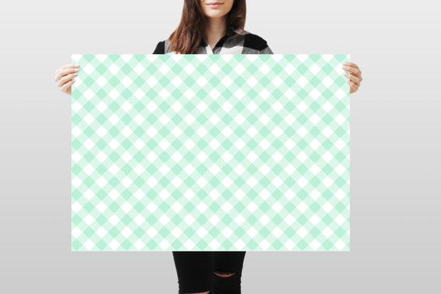 Photography Backdrop - Pastel Checkered 2