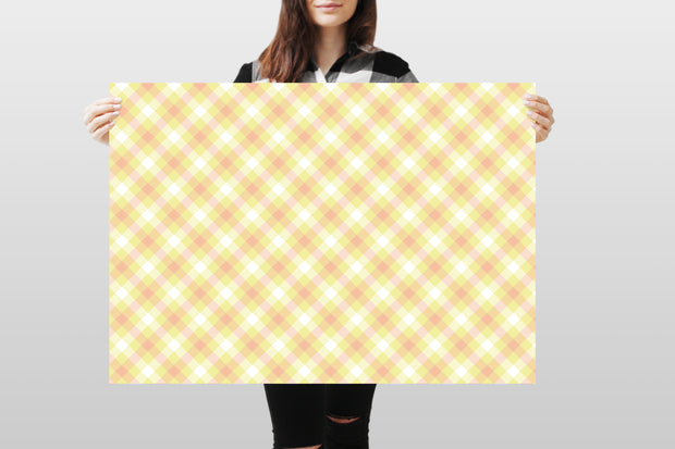Photography Backdrop - Pastel Checkered 8