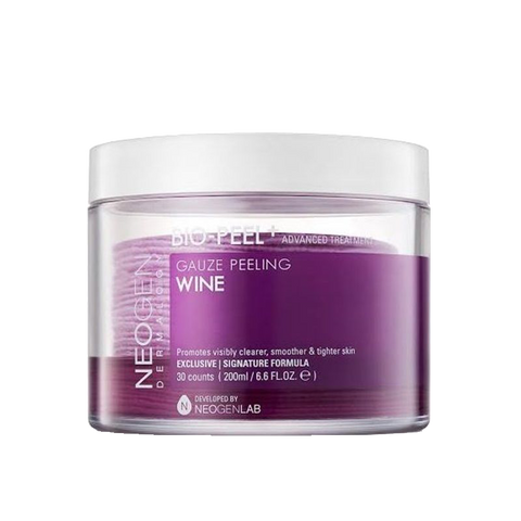 K Beautie: NEOGEN Bio-Peel Gauze Peeling Wine - Treatment - NEOGEN