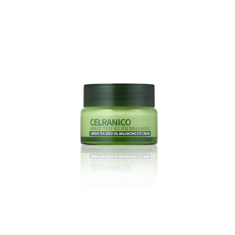 K Beautie: CELRANICO Green Tea Seed Oil Balancing Eye Cream - Cream - CELRANICO