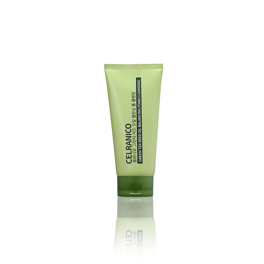 K Beautie: CELRANICO Green Tea Seed Oil Foam Cleansing - Cleansing Foam - CELRANICO
