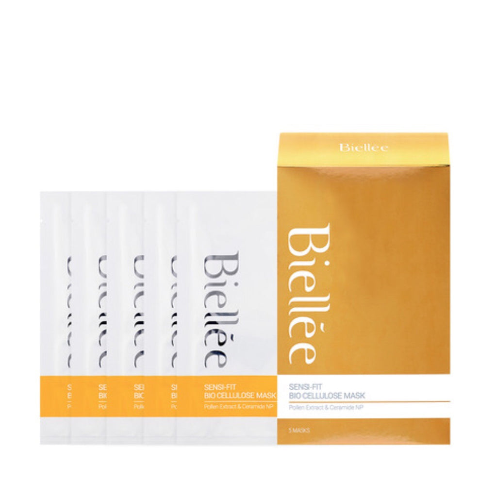 K Beautie: Biellee Sensi-Fit Bio Cellulose Mask - Sheet Mask - Biellee