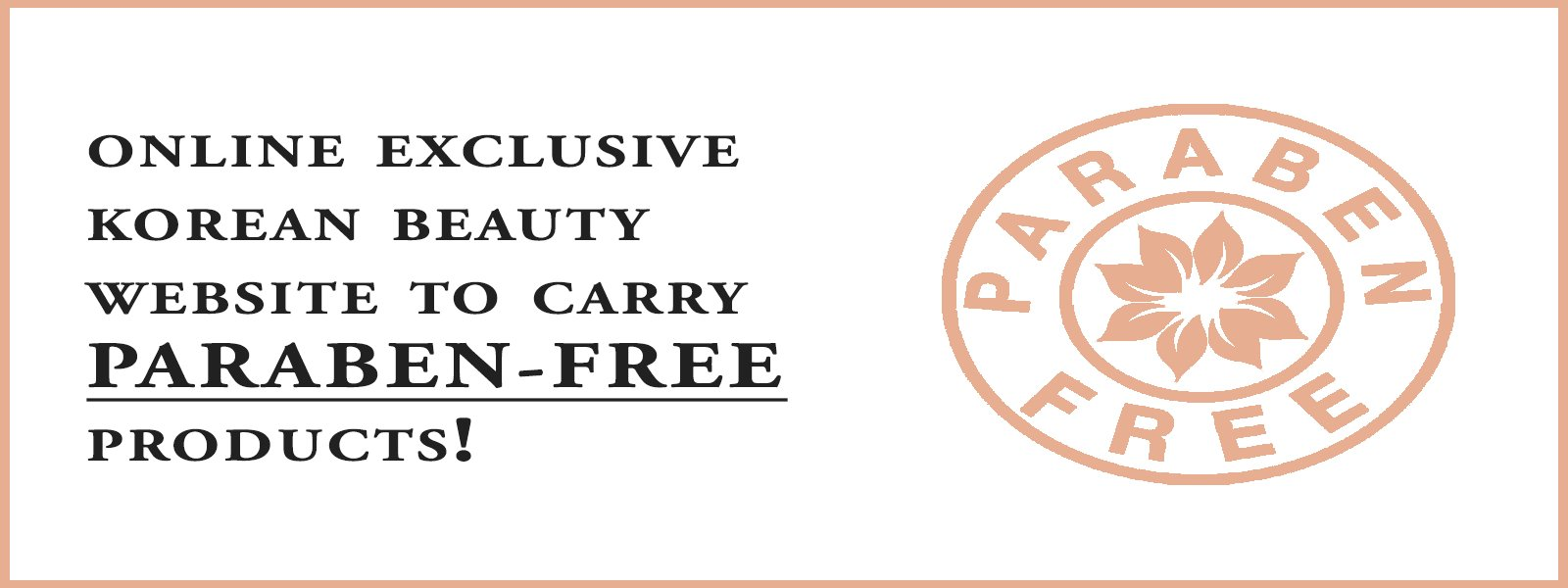 Paraben-Free Website