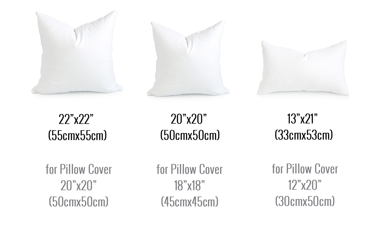 Hofdeco Pillow Insert