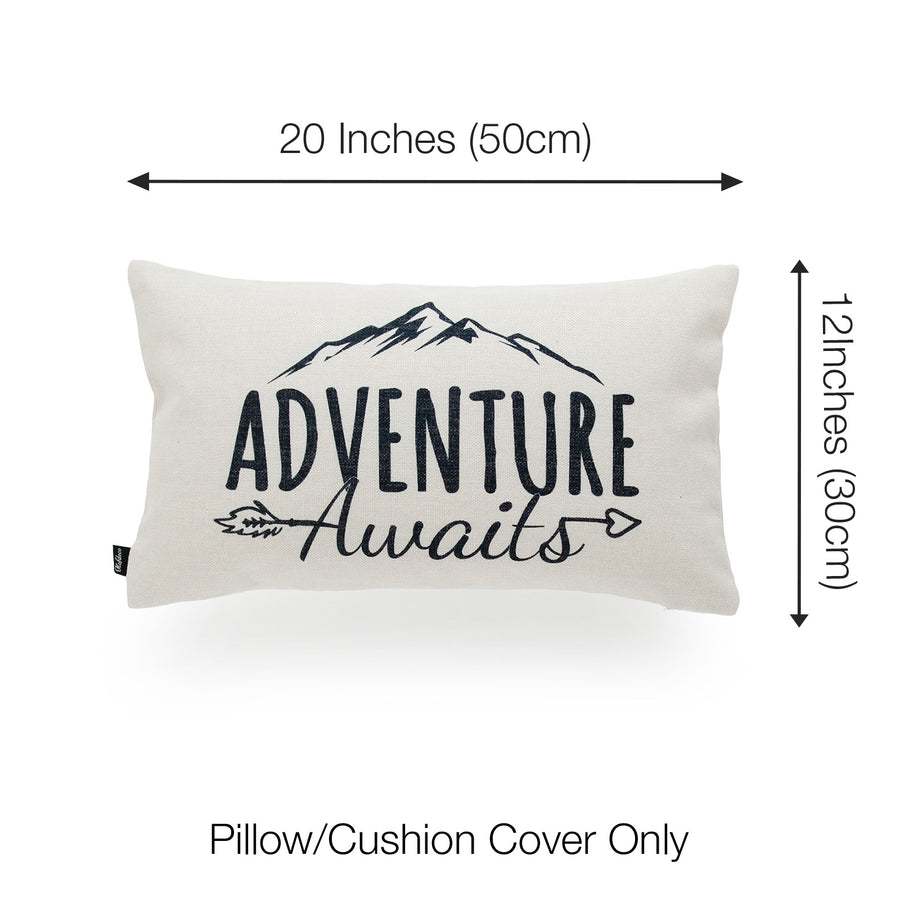 welcome pillow cover