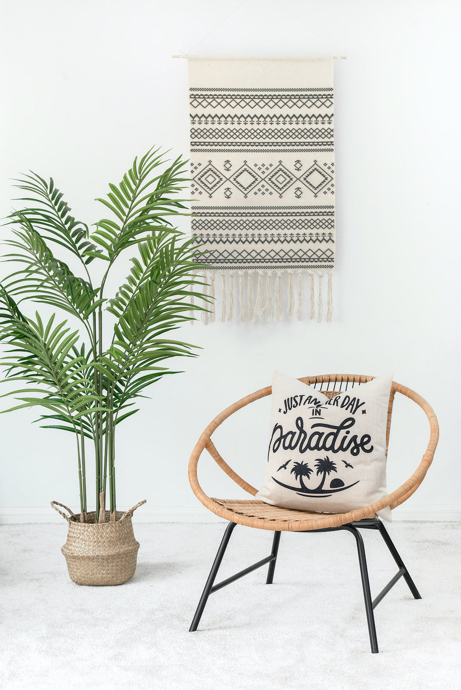 Coastal Pillow Cover, Just Another Day in Paradise, 18
