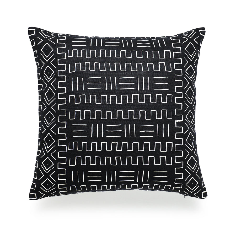 mudcloth pillow combinations