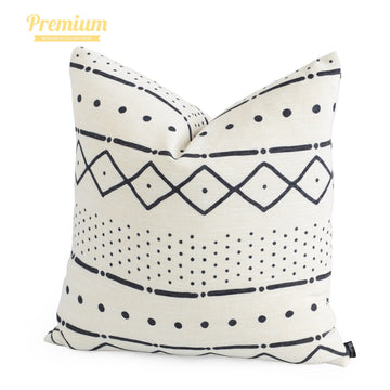 Hofdeco MudCloth Inspired Print Pillow Decor