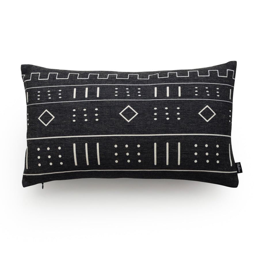mudcloth accent pillows