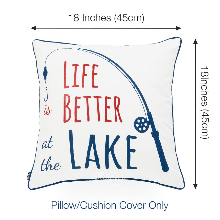 spring summer outdoor pillow cover