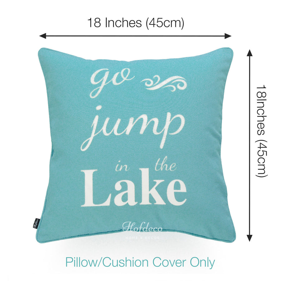 nautical outdoor pillow cover