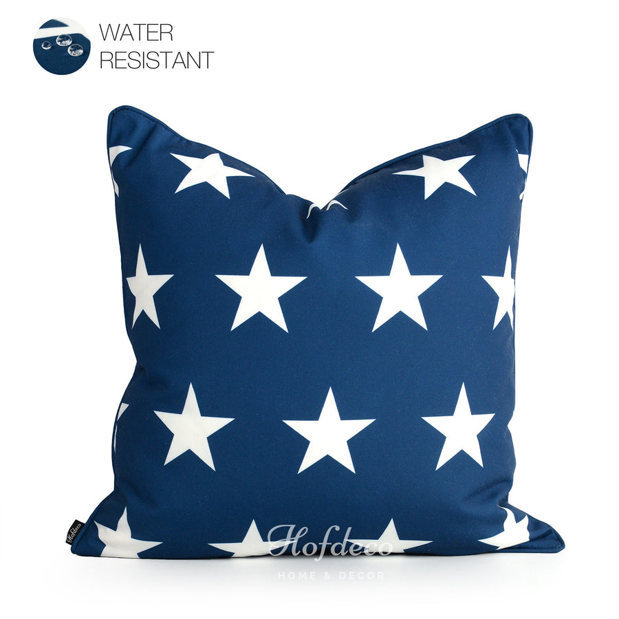 Americana outdoor pillow cases