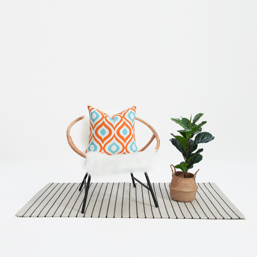 throw pillow aztec