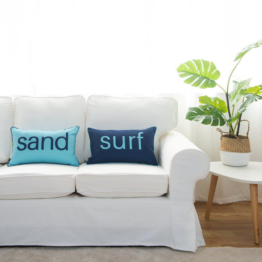 decorative beach pillow