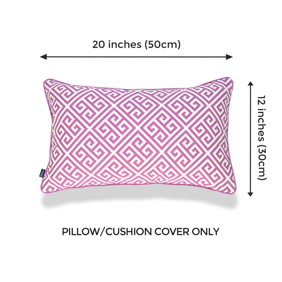 purple outdoor throw pillow