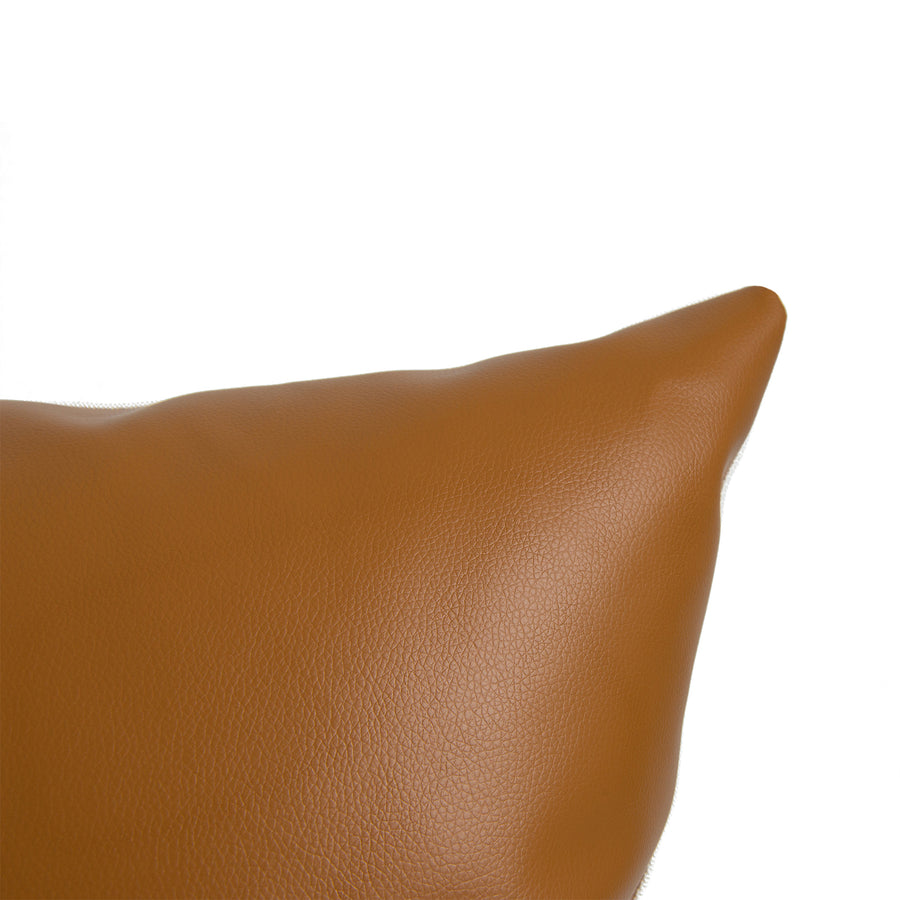 tan throw pillow