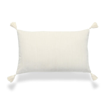 neutral throw pillow