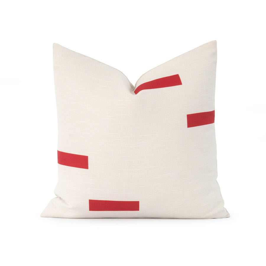 dashes throw pillow