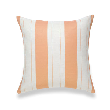 Fall Pillow Cover, Elis, Stripe, Orange, 20