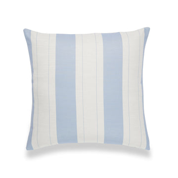 Coastal Pillow Cover, Elis, Stripe, Sky Blue, 20