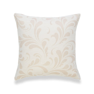 Coastal Pillow Cover, Essa, Floral, Camel Sand, 18
