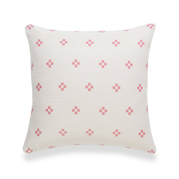 Spring Pillow Cover, Diamond, Pink, 18