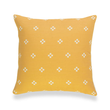 Spring Pillow Cover, Diamond, Yellow, 18