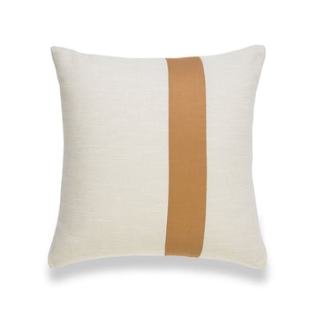 Modern Boho Pillow Cover, Mustard Yellow, Stripes, 18