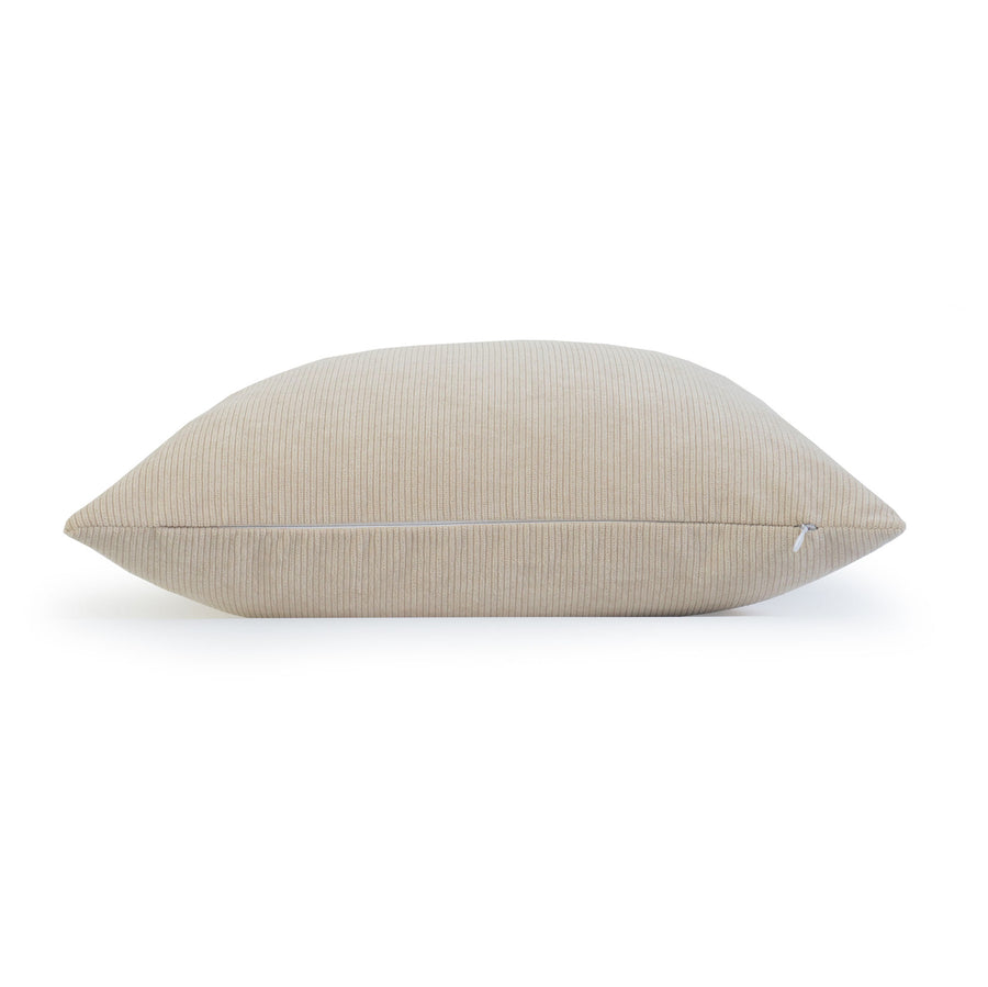Modern Pillow Cover, Corduroy, Camel, 18