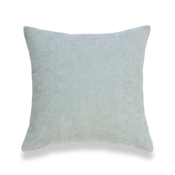 Modern Pillow Cover, Corduroy, Aqua, 18