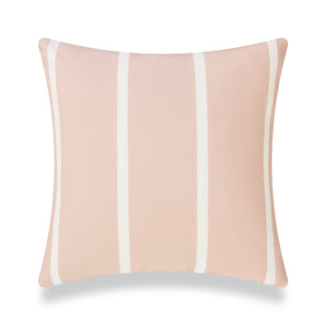 Classic Outdoor Pillow Cover, Pink Wide Striped, 20