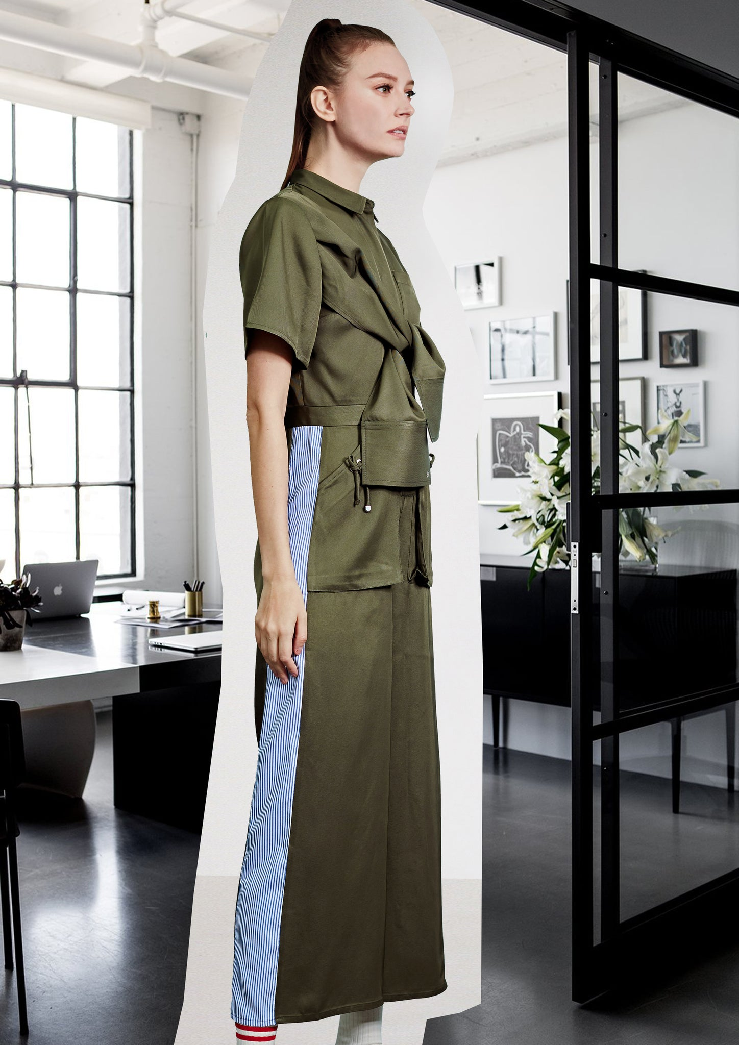 Premium Military Jumpsuit Army Green