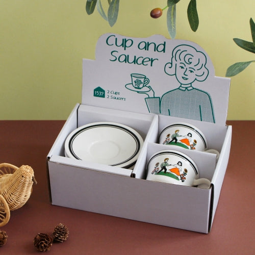 Cup & Saucer Set (Choose 2) - whoami
