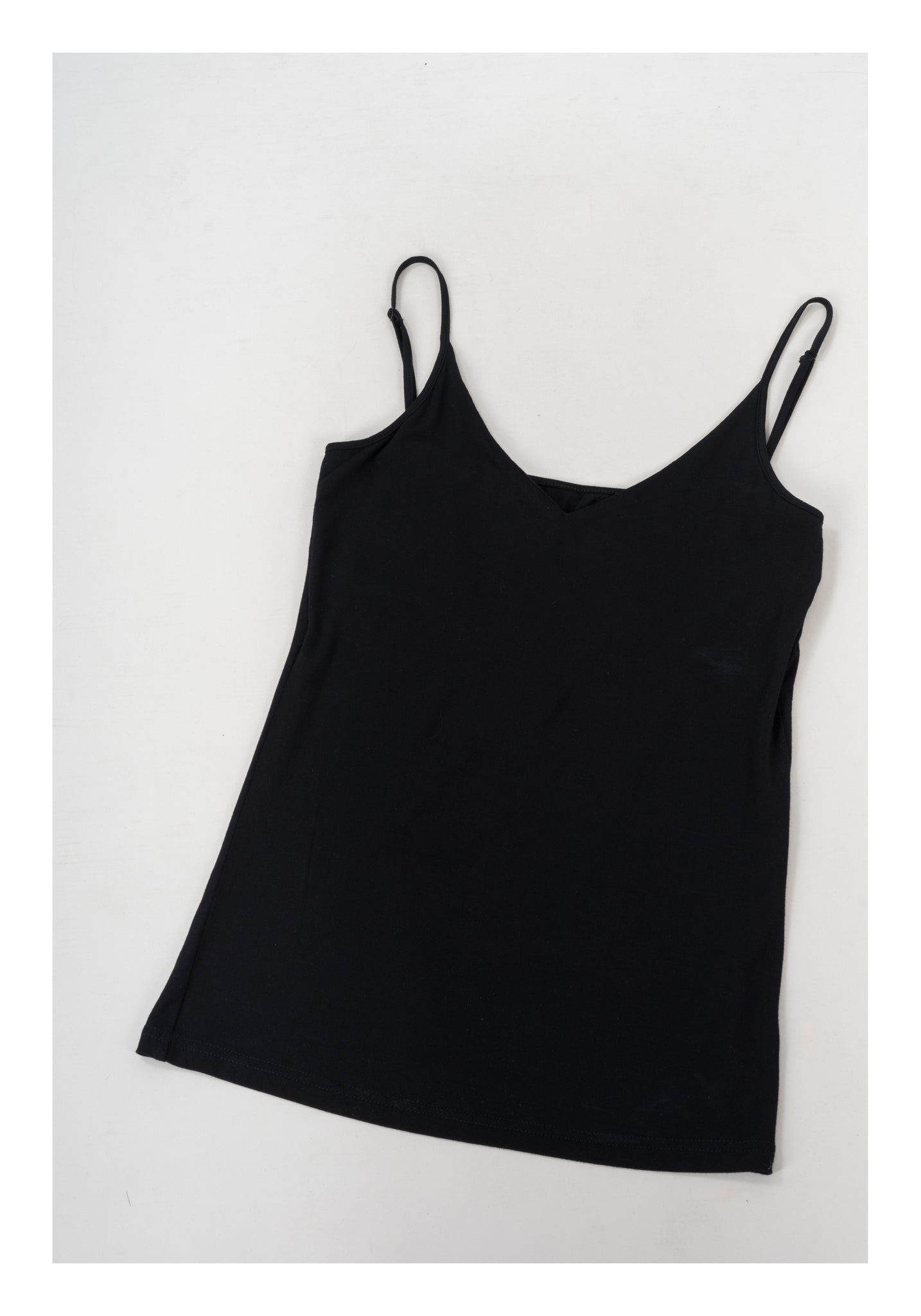 V Neck Vest Black - whoami