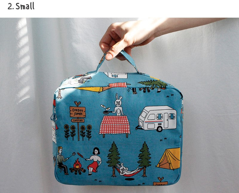 Travel Multi Pouch ver.3 Camper & Rabbit - whoami