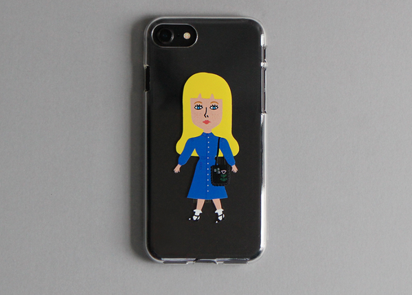 Fashion Week Cecile Jelly Phone Case - whoami