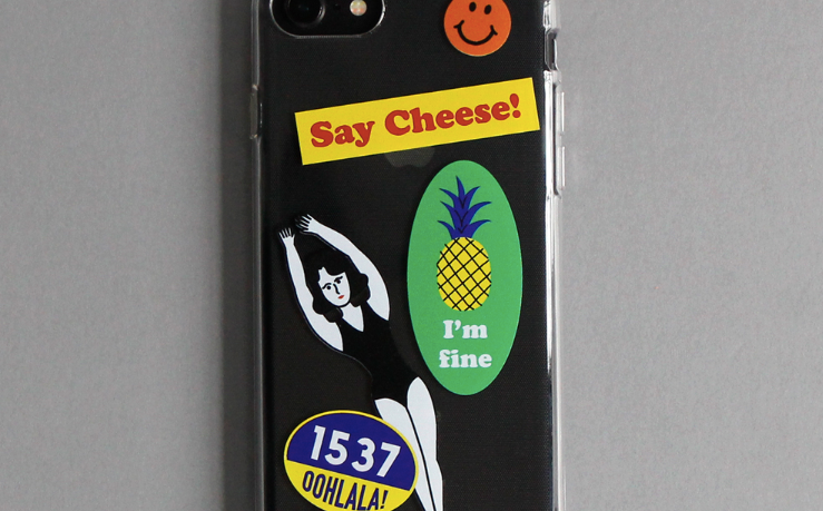 Say Cheese Jelly Phone Case - whoami